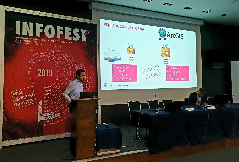 Telekom na Infofestu predstavio web aplikaciju ''Atlas Tapestry''