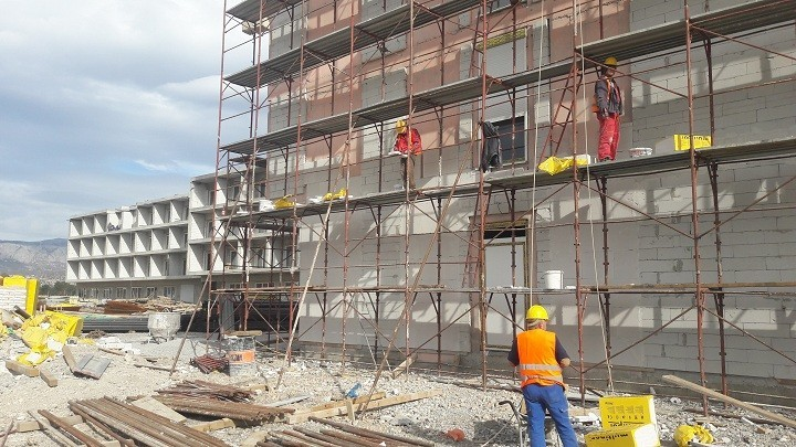 Dom za stare u Podgorici: Završen veći dio unutrašnjih radova