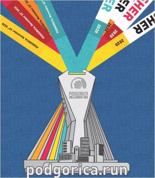 Zbog epidemiološke situacije odgođeno prvo izdanje manifestacije Podgorica Millenium Run