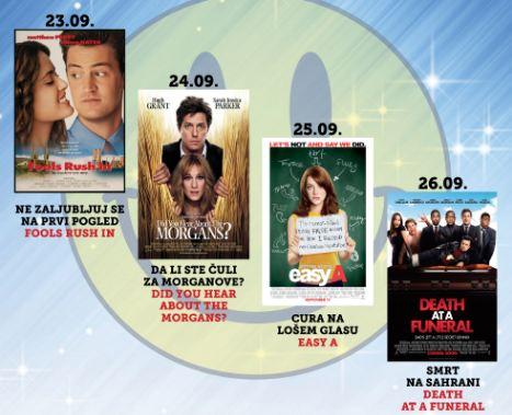 """Filmska revija """"Zlatne komedije"""" VI u KIC-u, ulaz besplatan"""