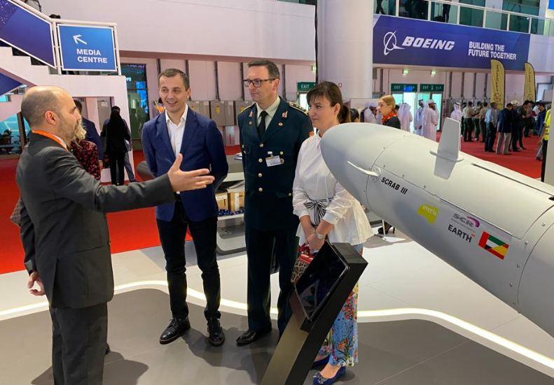 """Bošković na međunarodnom sajmu vazduhoplovstva """"Dubai Airshow 2019"""""""
