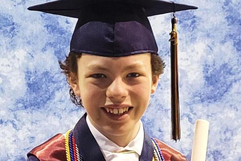 Dvanaestogodišnjak od početka pandemije završio srednju školu i dvije godine fakulteta