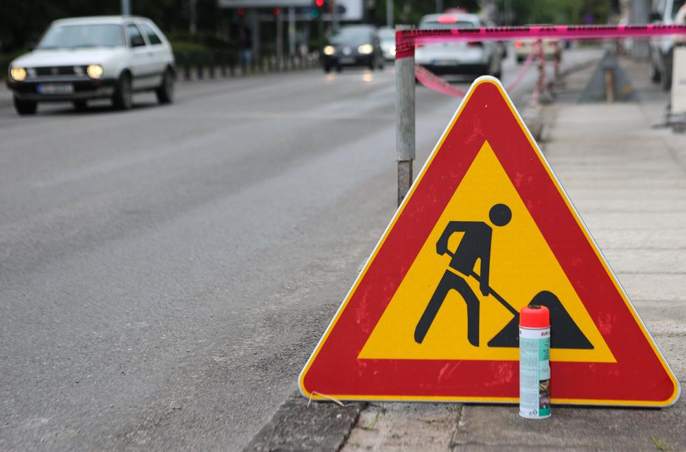 Zatvaranje dijela Ulice Vuka Karadžića zbog rekonstrukcije