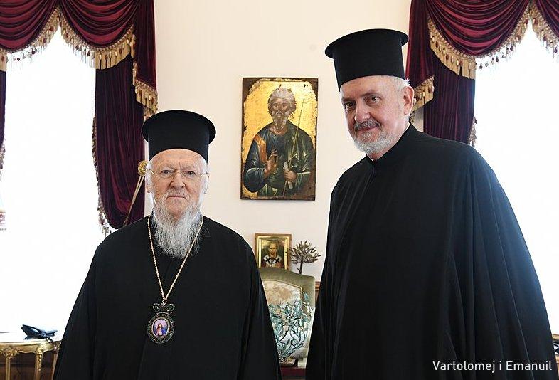 Ustoličen arhijerej br. 2 Vaseljenske patrijaršije – mogući nasljednik Vartolomeja