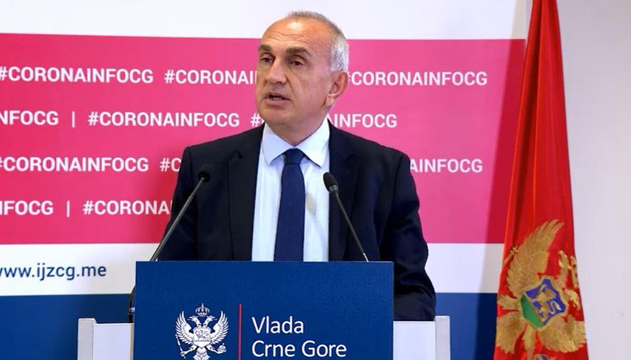 Vukčević: Za prvi talas potreba imaćemo na raspolaganju 120 miliona eura