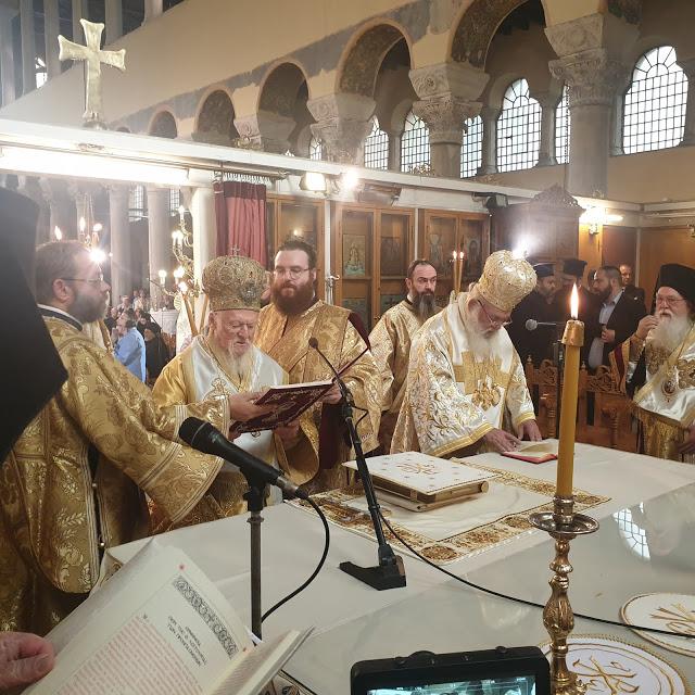 Na liturgiji Vartolomeja i Jeronima pomenut Epifanij – Rusi uklanjaju iz diptiha poglavara Grčke crkve