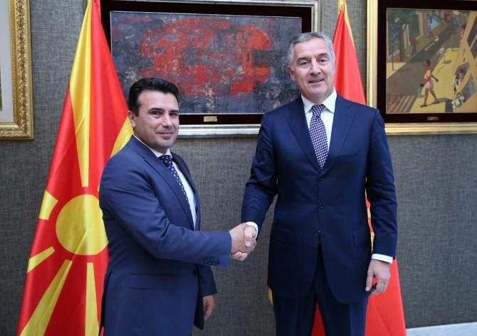 Đukanović - Zaev: Cilj da naše zemlje i region vratimo evropskoj kući i uspostavimo evropski sistem vrijednosti