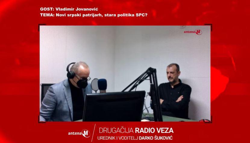 Jovanović: Napadi srpskih medija na Joanikija i Gojka Perovića, priprema terena za izbor Amfilohijevog nasljednika