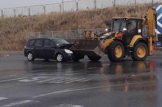 Saobraćajna nezgoda na Starom aerodromu