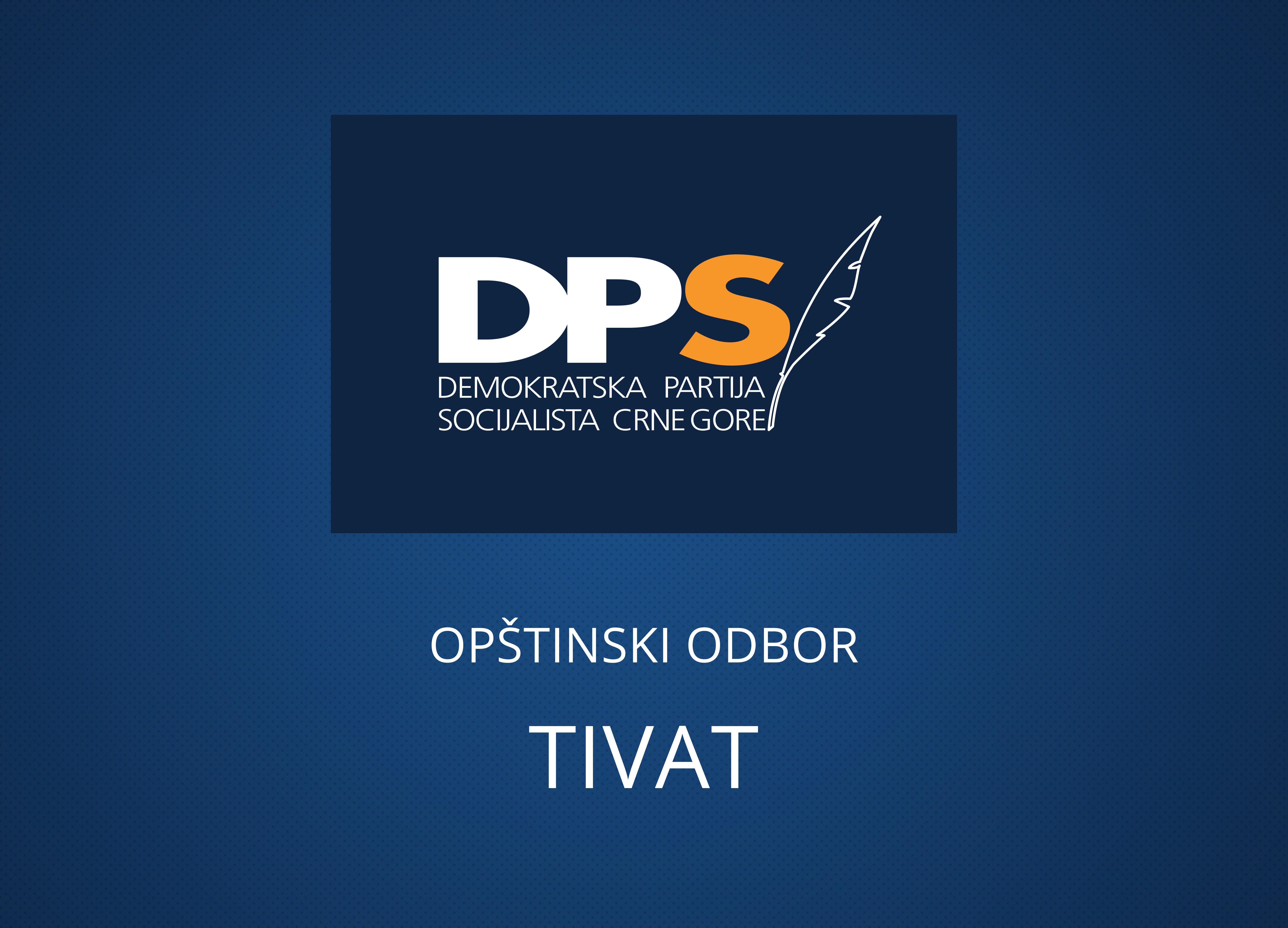 DPS Tivat: Intoniranje himne cijena za podršku odbornika SDP-a, Tivat se vraća  u rane devedesete