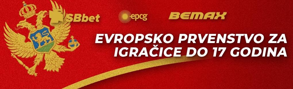 Podgorica od četvrtka domaćin Evropskog prvenstva za kadetkinje