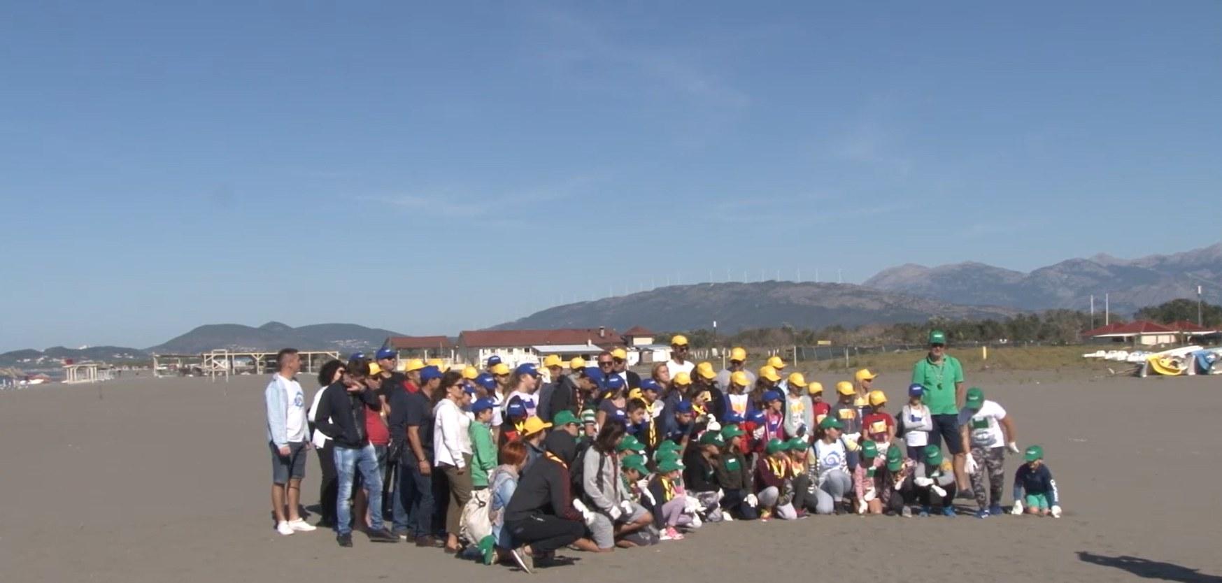 Ulcinj: Djeca iz četiri crnogorske opštine sakupila 280 kg otpada