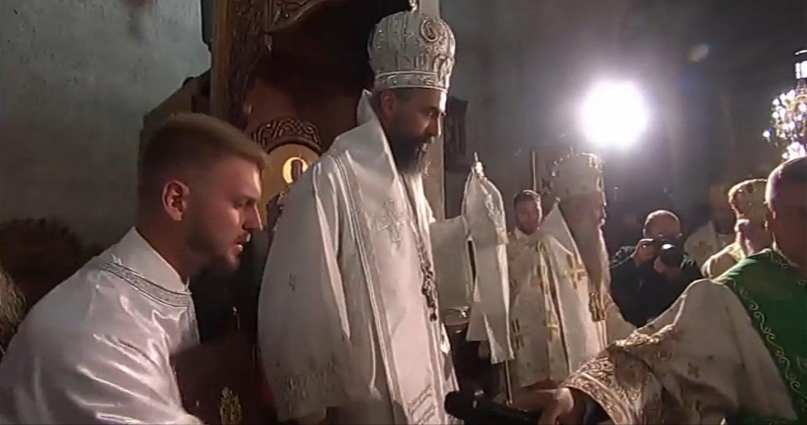 Ustoličen Metodije uz prenos na Parlamentarnom kanalu TVCG