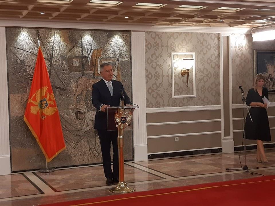 Đukanović: Cilj SPC da smijeni vlast, dali smo korektnu ponudu, nijesu pametno izabrali