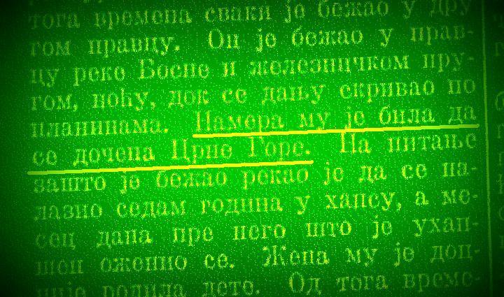 POSLJEDNJI BORCI ZA PRAVO, ČAST, SLOBODU I NEZAVISNOST: Gonjeni komita prelazi stotine kilometara kroz BiH i stiže u Crnu Goru (2)