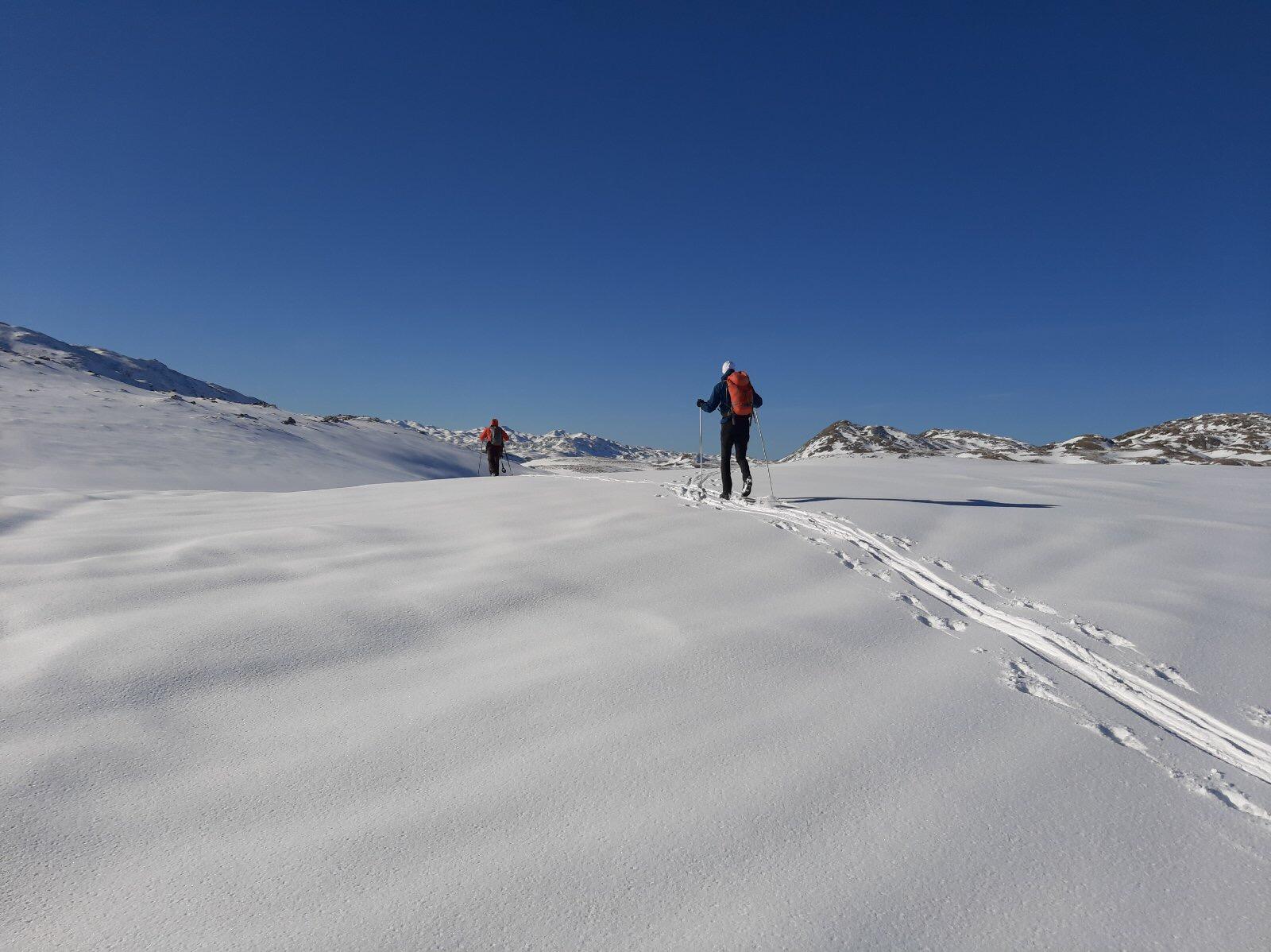 Na skijama i krpljama prostranstvima Sinjajevine