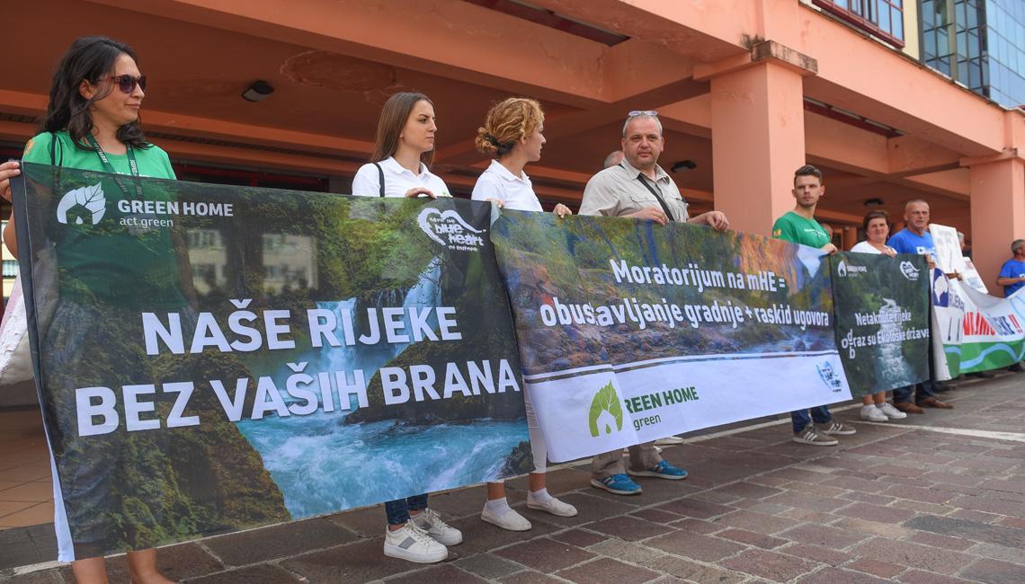 """""""Vlada da zaustavi proces izgradnje malih hidroelektrana"""""""