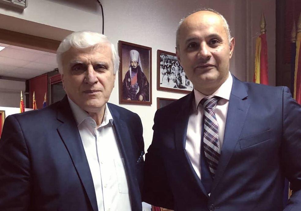 Kašćelan razgovarao sa predstavnicima Crnogorske zajednice u Sjevernoj Makedoniji
