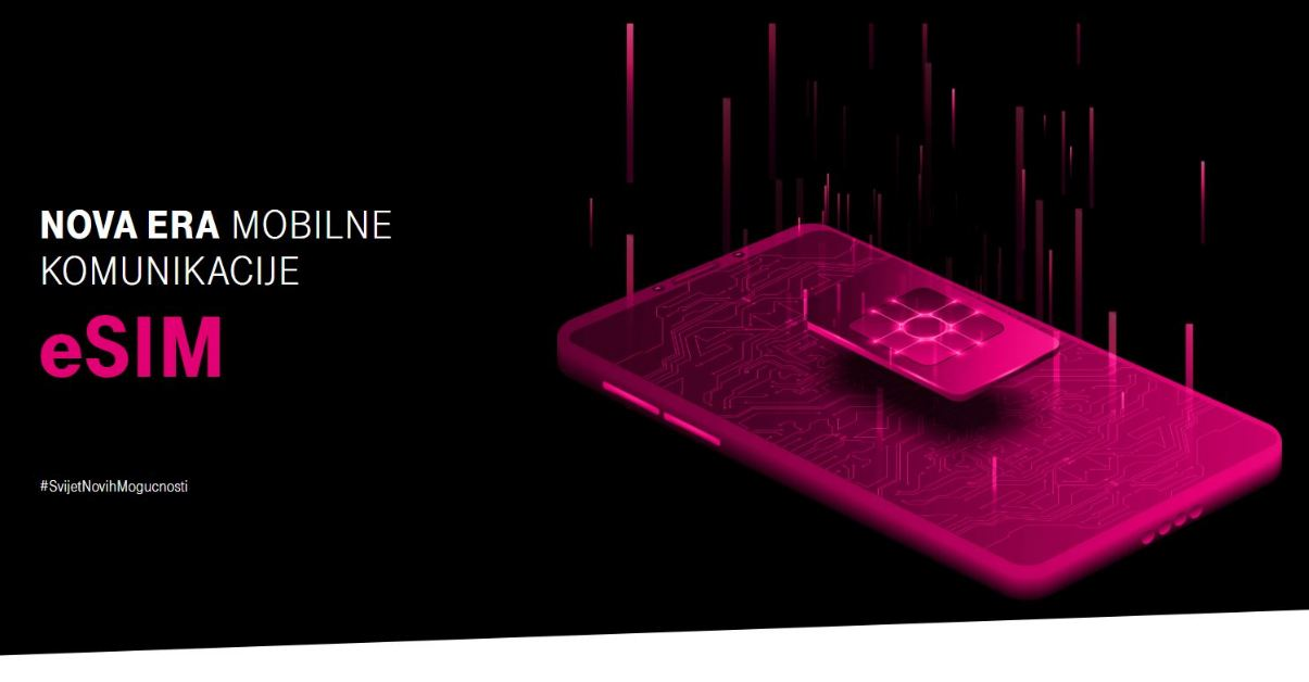 Crnogorski Telekom prvi u Crnoj Gori predstavlja eSIM tehnologiju