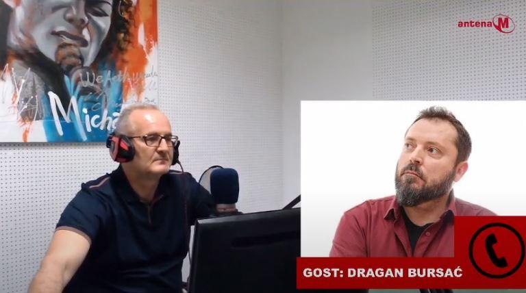Poslušajte Drugačiju radio vezu: Gost Dragan Bursać