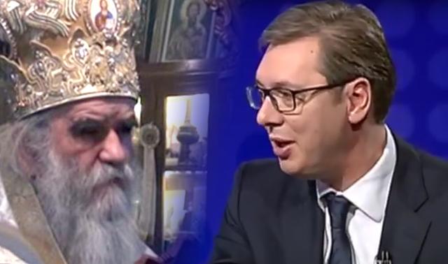 Amfilohije: Nijesam saglasan sa odlukom Sinoda SPC da dodijeli orden Vučiću