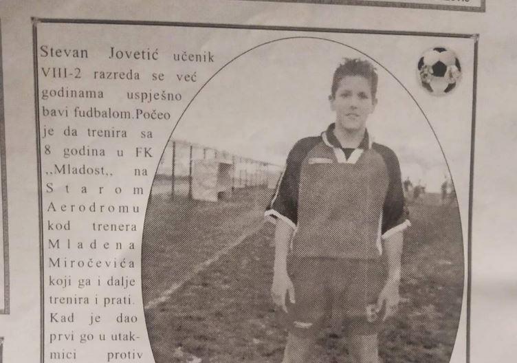 Stevan Jovetić: Od učenika VIII-2 do svjetski poznatog igrača