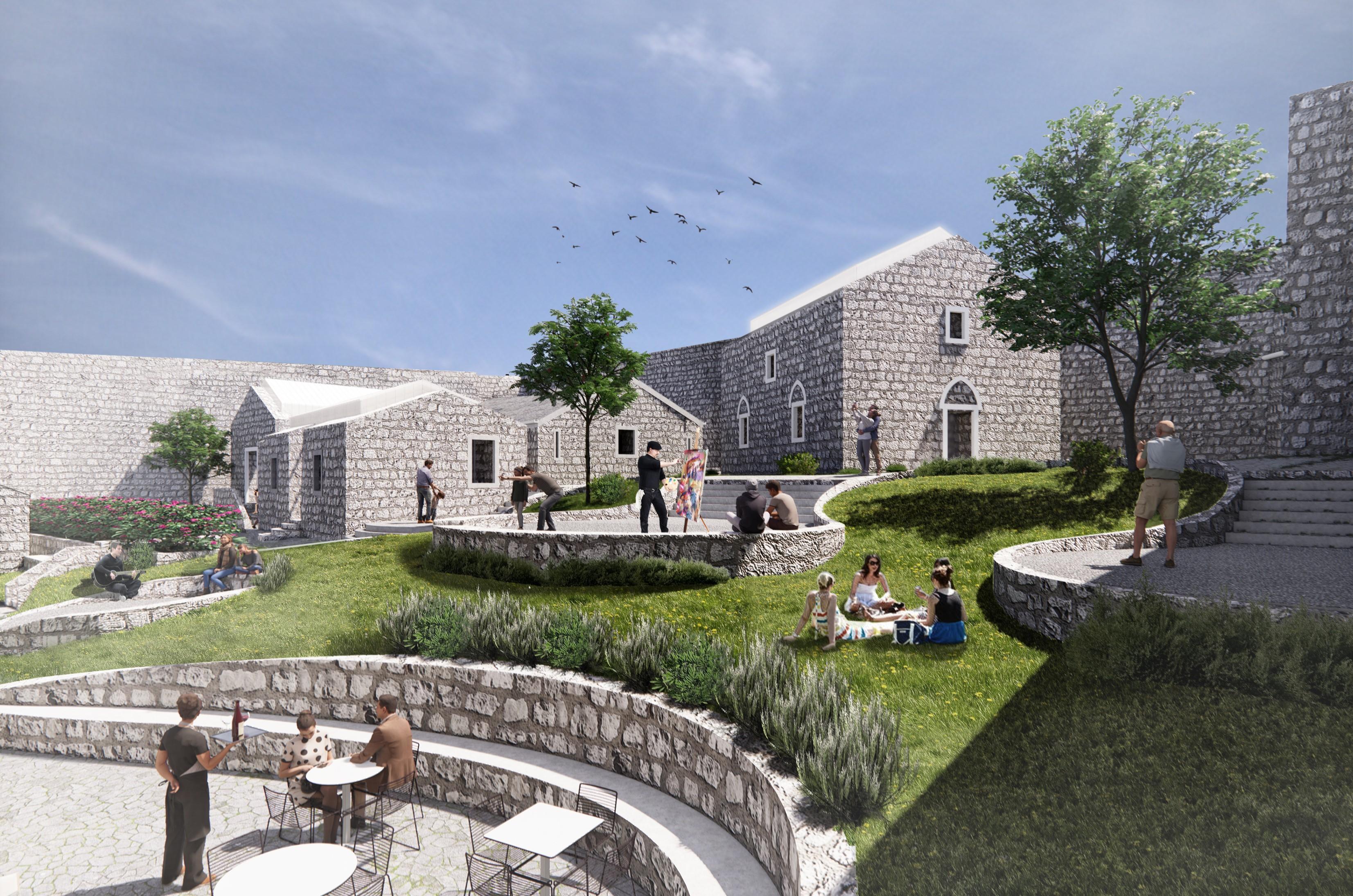 Rezultati konkursa za revitalizaciju kulturne baštine u HN: Tvrđava Španjola kao rezidencijalni umjetnički centar