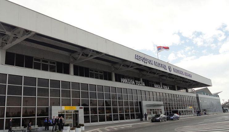 Sudar na pisti Aerodroma Nikola Tesla