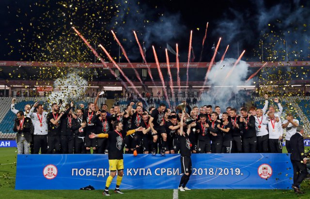 Partizan preko Zvezde do trofeja Kupa Srbije