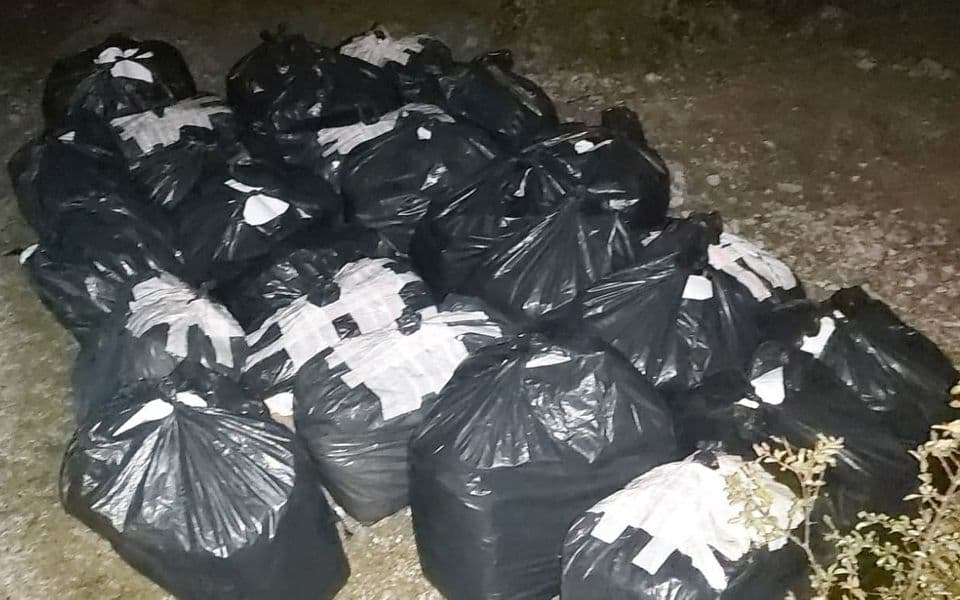Granična policija zaplijenila po 400 kg duvana i ribe