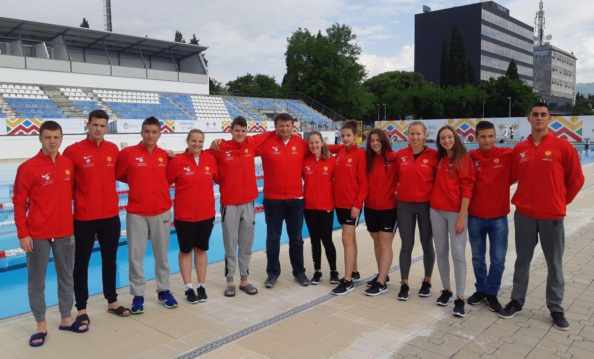 Crna Gora sa 13 plivača na Igrama malih zemalja Evrope