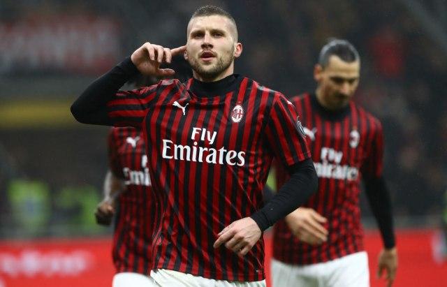 Rebić donio pobjedu Milanu