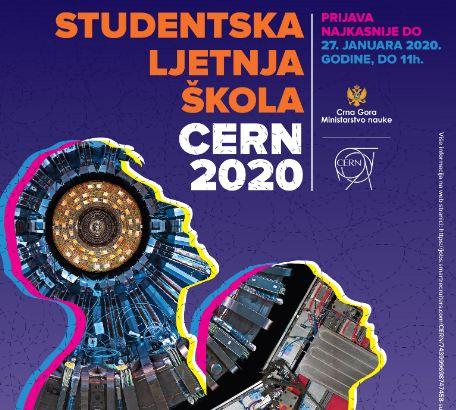 Rok za prijavu kandidata za CERN-ovu ljetnju školu do 27. januara