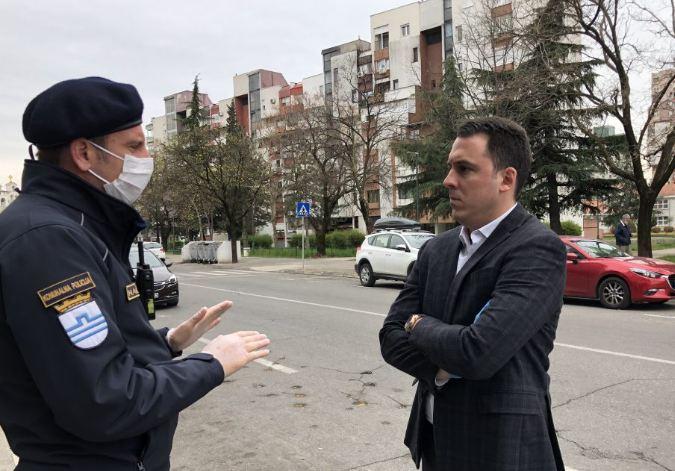 Komunalna policija, inspekcija i pripadnici Službe zaštite i spašavanja nesmetano obavljaju svoje zadatke
