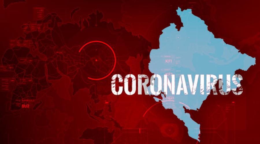 U Crnoj Gori najviše aktivno oboljelih na 100 hiljada stanovnika