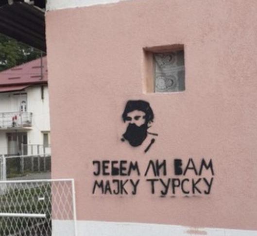 Berane - fašizam na zidu, fašizam u glavi