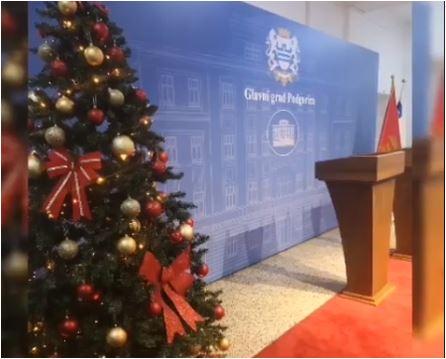 Glavni grad čestitao Novu godinu