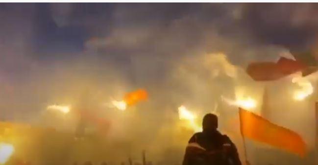 Crnogorske zastave vijore večeras i na Bedemu, odjekuje i himna!