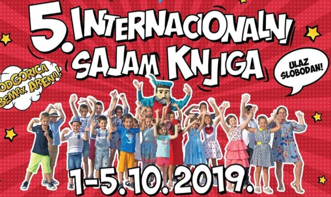 Najava programa za peti dan 5. internacionalnog sajma knjiga
