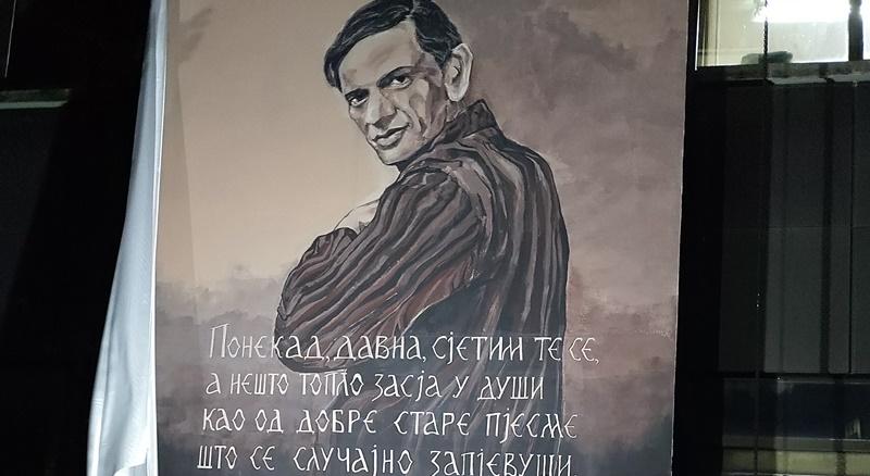 Još jedan mural Vita Nikolića krasi Nikšić