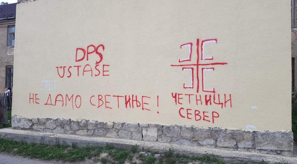 Grafiti mržnje osvanuli i u Pljevljima