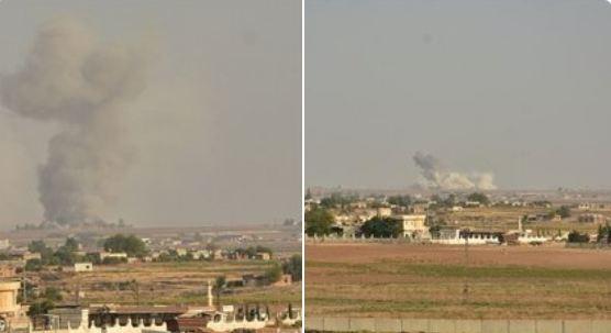 Počela vojna akcija u Siriji, objavljeni snimci i fotografije
