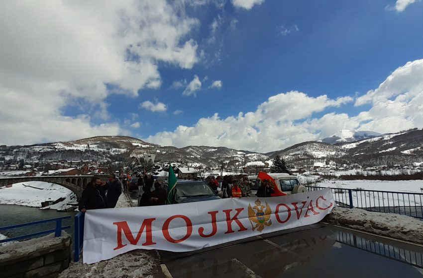 Blokiran  i magistralni put Mojkovac – Kolašin