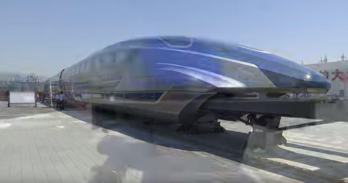 """Kineska """"munja"""" brža od japanskog """"metak-voza"""": Lebdi iznad pruge 600 km/h"""