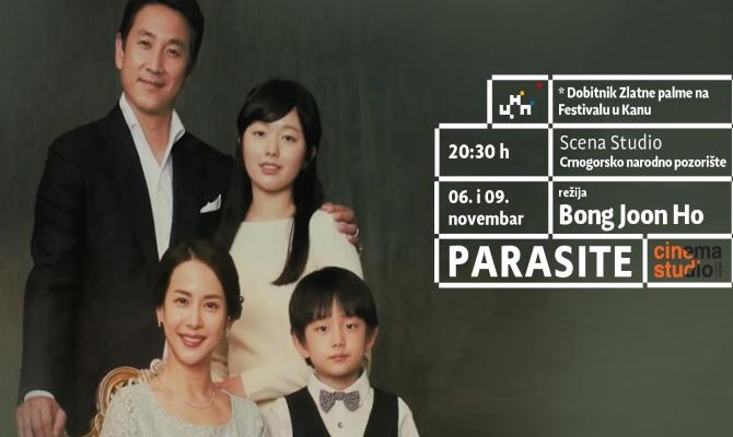 "Film ""Parazit"" na sceni Studio"