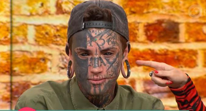 Zovu ga čovjek - pauk: Ima čak 150 tetovaža