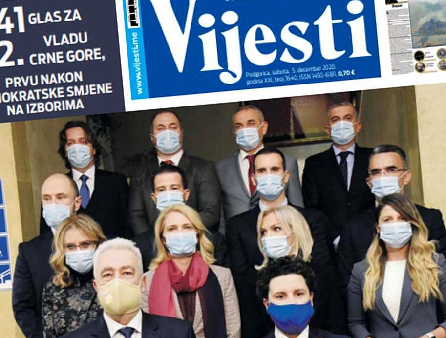 12 novinara Vijesti savjetnici i diplomate u Krivokapićevoj vladi