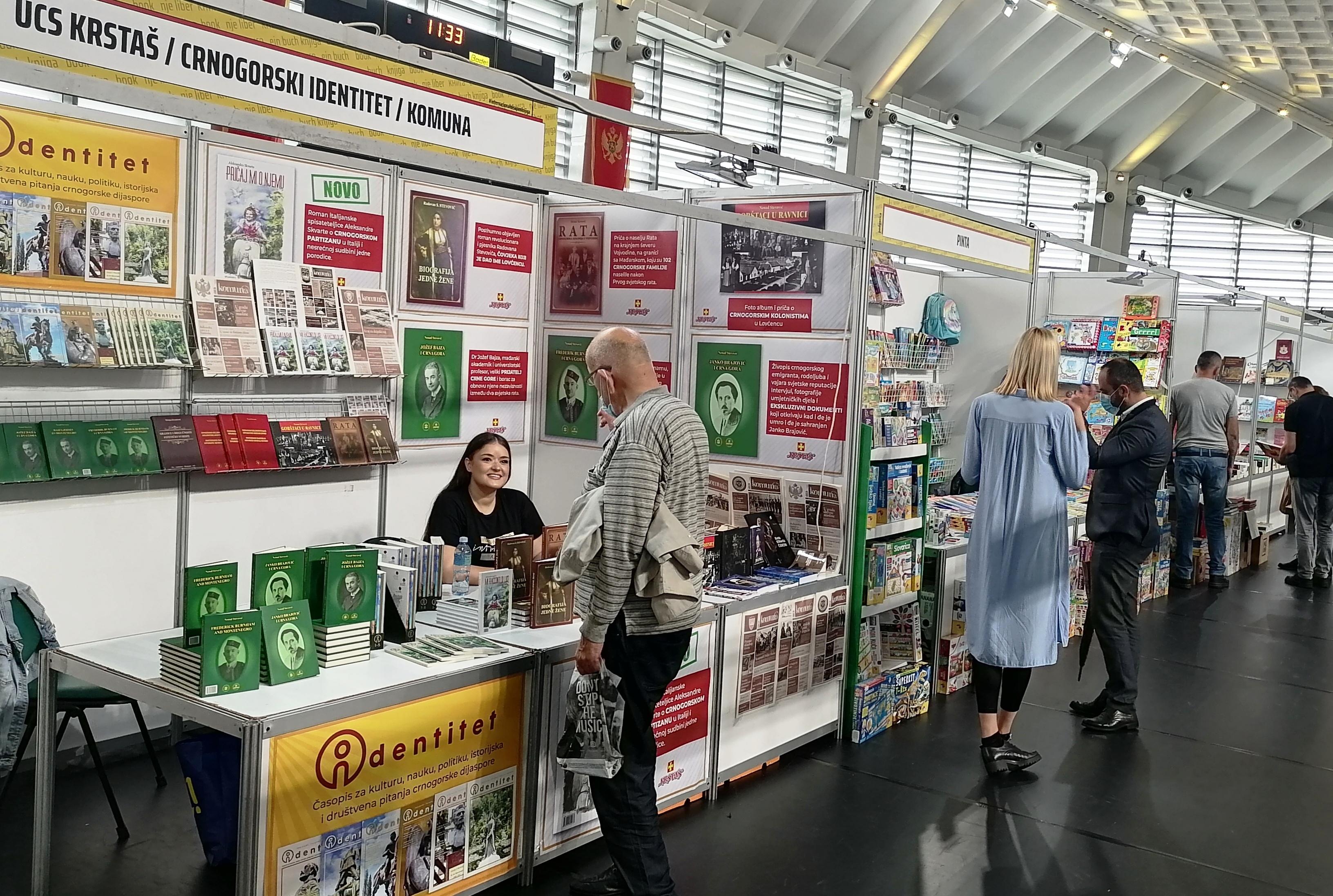 Crnogorska dijaspora na sajmu knjiga u Podgorici