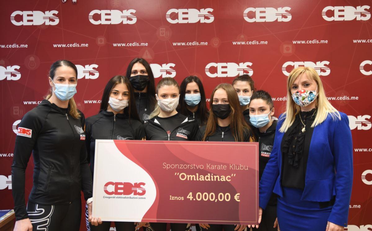 CEDIS podržao karate klub Omladinac