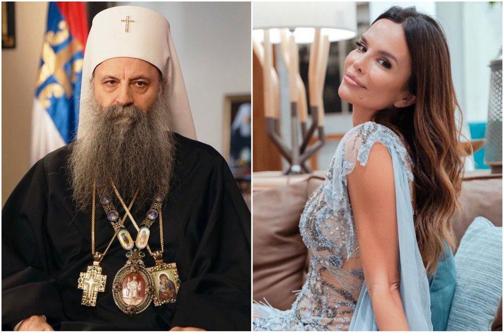 Kukavice! Severina odgovorila na tvrdnje da je prijetila i vrijeđala patrijarha Srbije